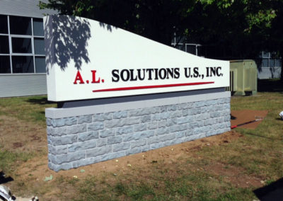 Corporate Monument Sign