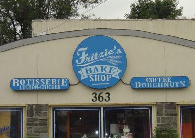Bakery Light Box Sign