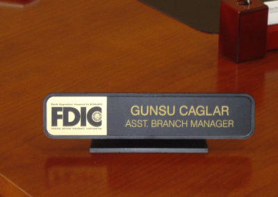 Bank Desk Name Signv