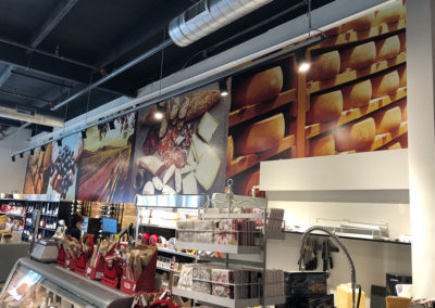 Cheese and Wine Wall Mural
