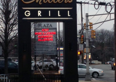 Restaurant Monument Sign