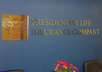 Dimensional Lobby Sign