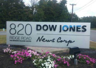 Dow Jones Monument Sign