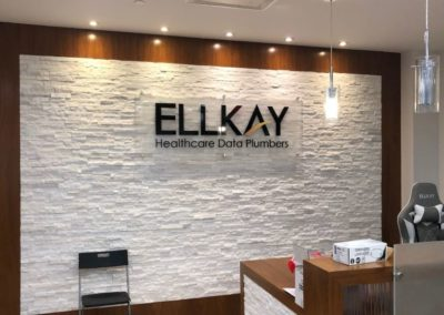 Ellkay Reception Wall
