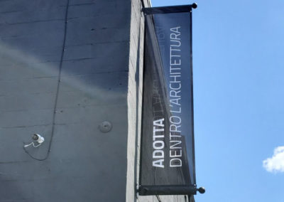 Exterior Mesh Banner