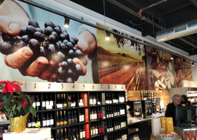 Wine Shop Wall Mural