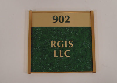 Office Room Identifier Sign