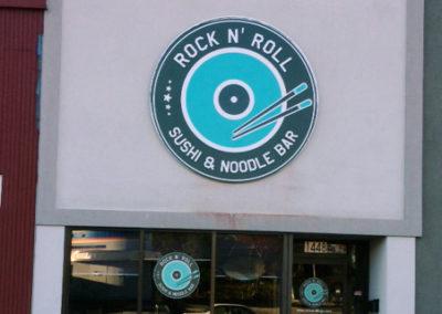 Restaurant Panel Sign