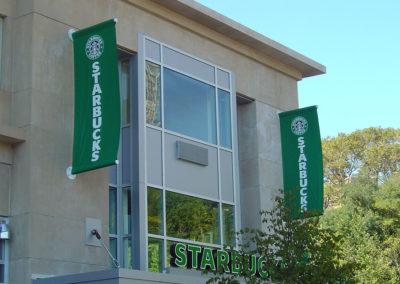 Retail Exterior Fabric Banner