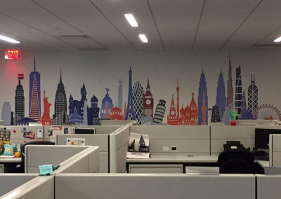 Skyline Wall Graphic