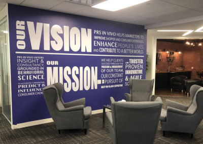 Vision Mission Wall Graphic