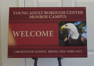 Welcome Sign Digital Print