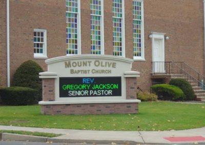 Church LED Monument Sign